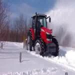 Tracteur-souffleuse